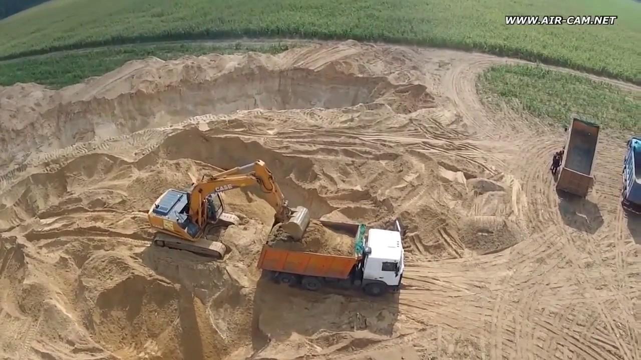 Карьерный песок купить по низкой цене ООО «РусКомРесурс» - YouTube