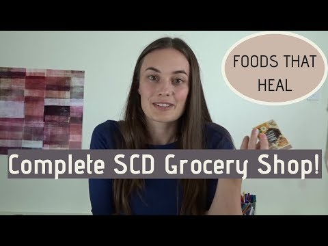 Groceries For The Specific Carbohydrate Diet (Diet For IBD, Autism, And Autoimmune Diseases)