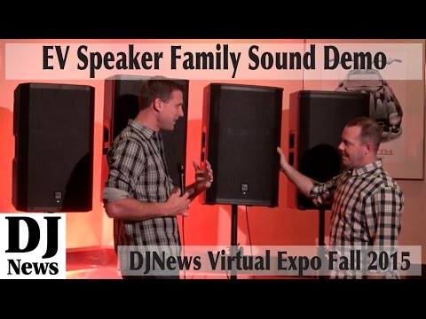 The Speaker Test You Wanted: Demo of all four #ElectroVoice Speaker Families! Virtual Expo