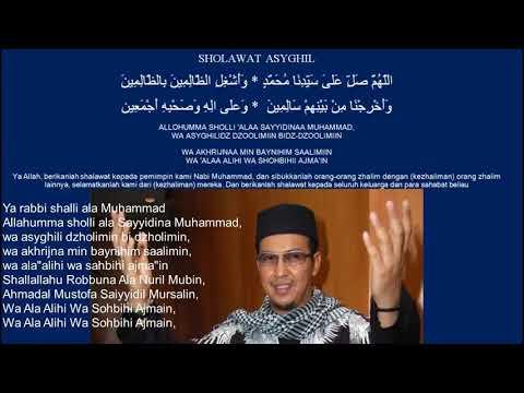 Sholawat Asyghil Versi Ustad Jefri Al Buchori Uje