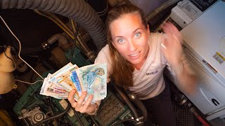 WE SAVED $45K on our 6 week MINI REFIT! - Sailing Vessel Delos Ep. 313