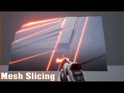 Mesh Slicing In Unreal Engine