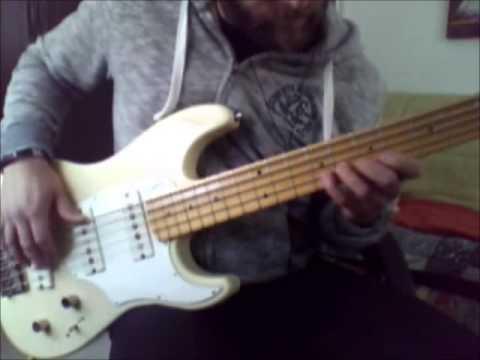 Godin Shifter Bass 5 Sound Test