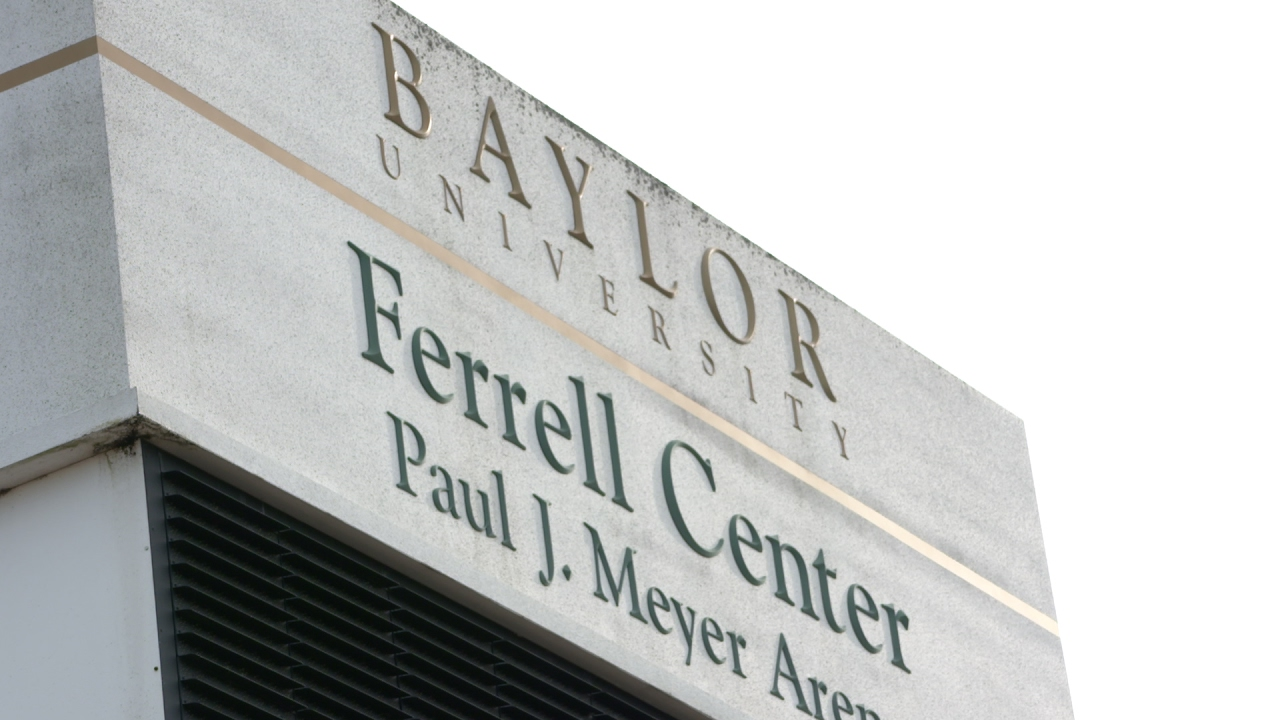 Baylor Basketball (M): Students Ready for Kansas