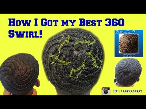 How to get a swirl with 360 waves: How to get 360 waves
