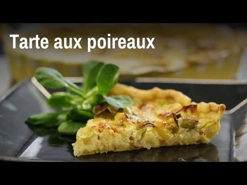 tarte aux poireaux en moins de 20 minutes youtube. Black Bedroom Furniture Sets. Home Design Ideas