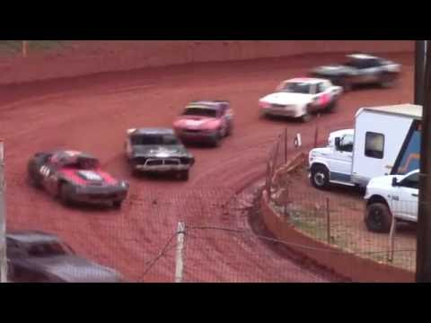 Winder Barrow Speedway Street Stock Race 7/30/16