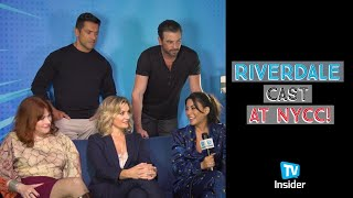 The Riverdale Cast Talks Season 4 & More at NYCC | TV Insider