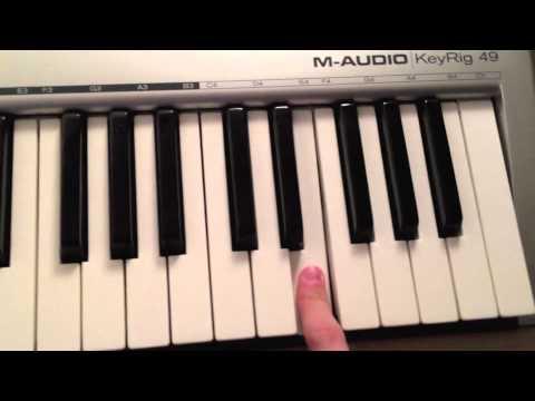 Take On Me Piano Tutorial Easy Youtube