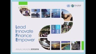 Trailer of the One Planet Sustainable Tourism Programme Annual Magazine 2017/2018