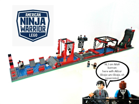 How To Build A Lego American Ninja Warrior Course