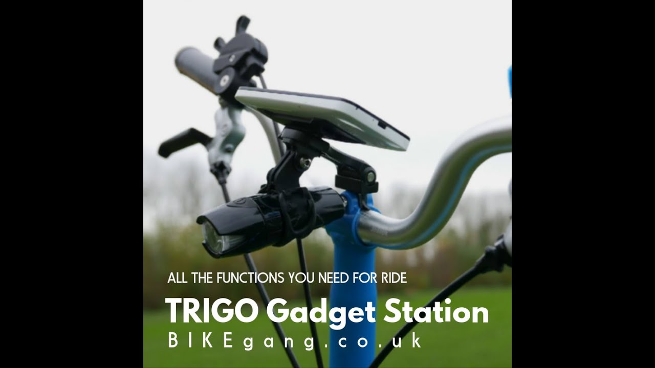 Trigo Brompton Birdy Bicycles Octopus Gadget Phone Bike Mount