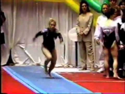Jenny Hansen - 1994 NCAA Event Finals - Vault