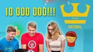 Jirka Hraje - Gamee - JumpTuber - 10 000 000 hrání!!! [Mobil]