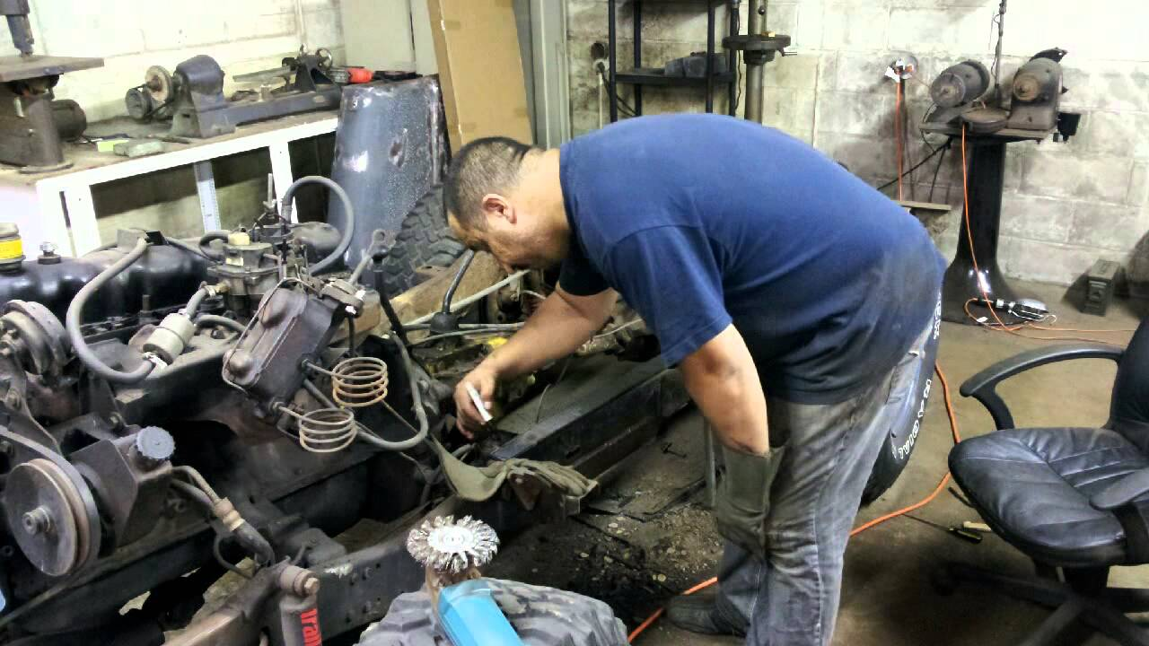 project cj5 - frame repair (part 6)