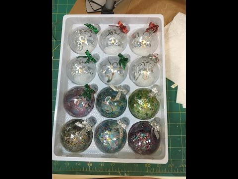 Christmas Ornaments with Metal Tape