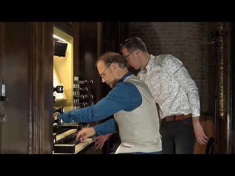 C. Saint-Saëns   Bénédiction Nuptiale   Willem Van Twillert Bätz-organ [1839]  Delft  Live Recording