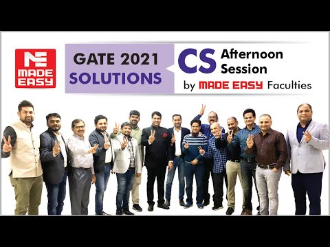 gate-2021-|-computer-science-|-live-exam-solutions-|-afternoon-session-|-by:-made-easy-faculty-team