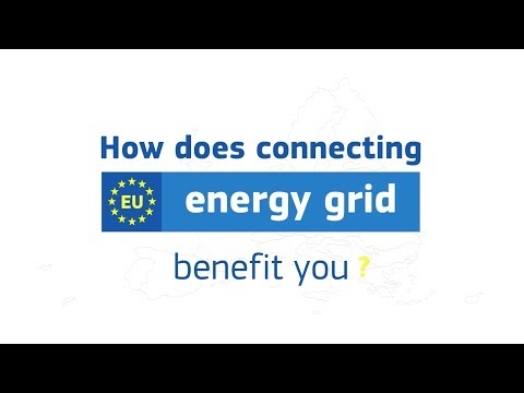 How does connecting Europe's energy grid benefits you?
