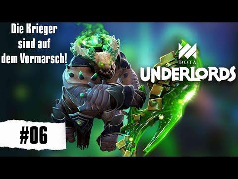 Die Krieger sind auf dem Vormarsch! - Dota Underlords [Deutsch Gameplay German] #06