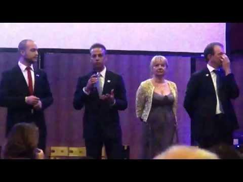 Testimonianze dall'evento di Castel Volturno con le qualifiche di Smeraldo Organo.