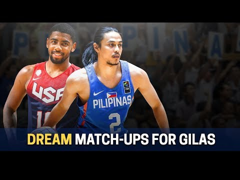 Gilas vs USA Dream Match-ups | Ricci vs Harden?