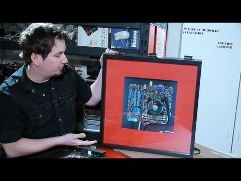 Hak5 - Building a photo frame computer case, your iPhone jailbroken picks
