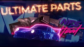 NFS Heat | Fastest way to earn ULTIMATE+ PARTS! [1440P]