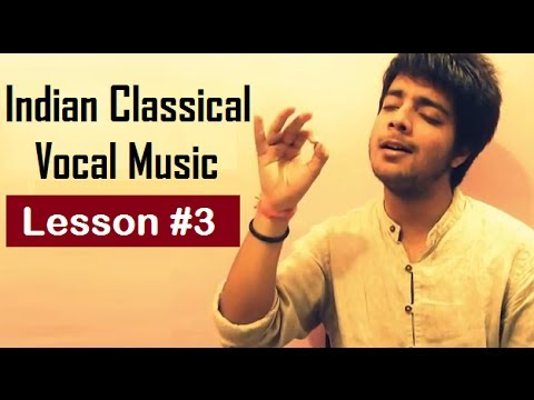 Tutorial 3 Alankaar  Indian Classical Vocal Music for Beginners  Siddharth Slathia