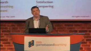 Game Based Learning 2009 - Sean Dromgoole, CEO, Some Research / Gamevision