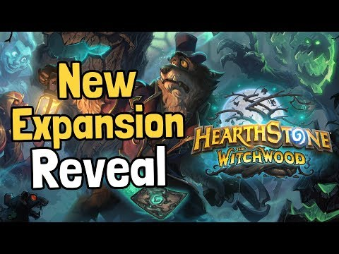 The Witchwood Reveal & Reaction - Hearthstone