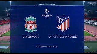 FIFA 20 Ливерпуль Атлетико Мадрид Финал Лиги Чемпионов