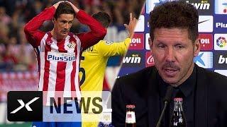 Diego Simeone nach Pleite: