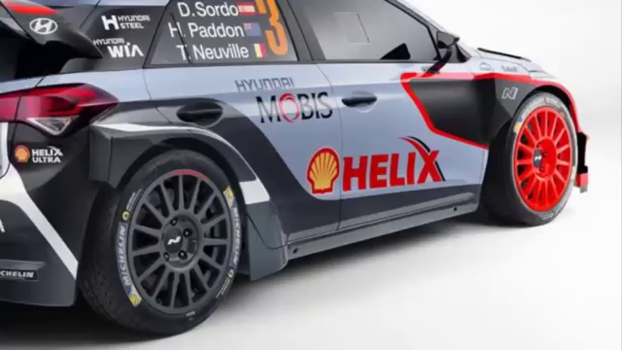 New Hyundai I20 Wrc Revealed Ahead Of 2016 World Rally Championship