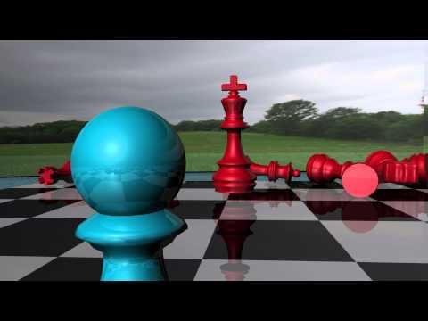 Maya 3D Chess Fight Animation