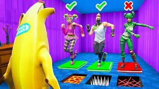 ESCAPE or DIE! Fortnite Simon Says Death House Challenge