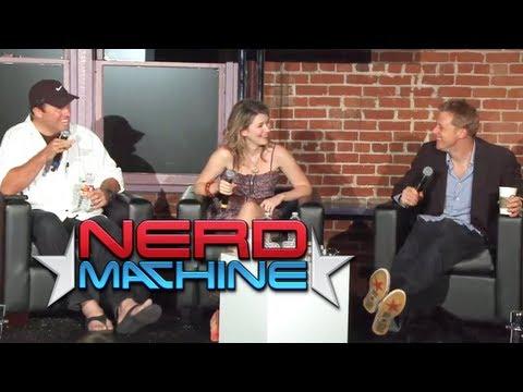 Conversation With Adam Baldwin, Alan Tudyk, And Jewel Staite - Nerd HQ (2011) HD - Zachary Levi
