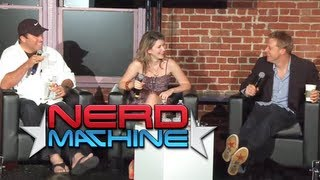 Conversation With Adam Baldwin, Alan Tudyk, And Jewel Staite - Nerd Hq (2011) Hd - Zachary Levi
