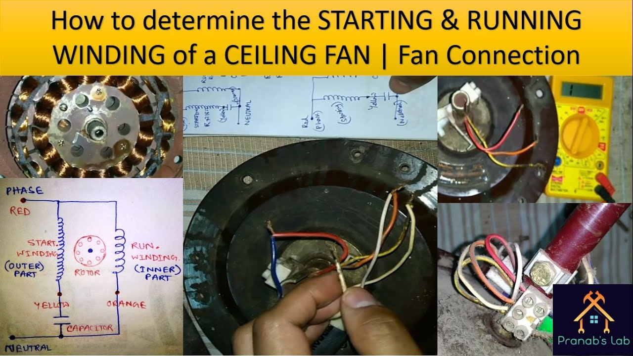 Ceiling Fan Parts Name List All Parts Youtube