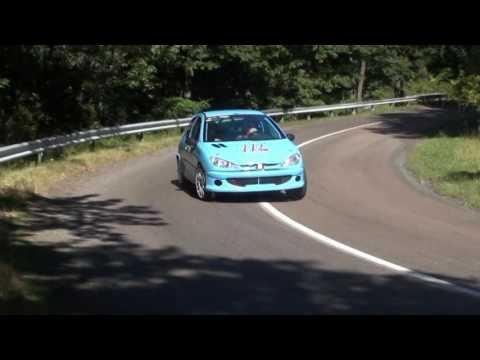 Illés Zoltán-Tóth László Peugeot 206 RC gr:a MARB Mátrakeresztes-Mátraszentimre 2016.08.06-07
