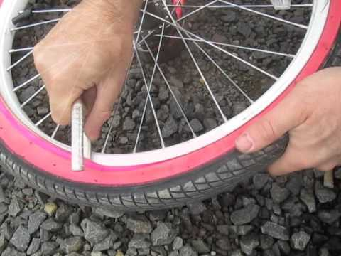 Crooked Valve Stem Bike Tire How To Fix Diy Bubble Bump Inner Tube
