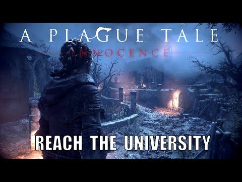 A Plague Tale: Innocence - Chapter 9 - In the Shadow of Ramparts - Reach The University Puzzle