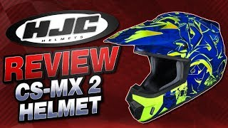 HJC CS-MX 2 Helmet Review from Sportbiketrackgear.com