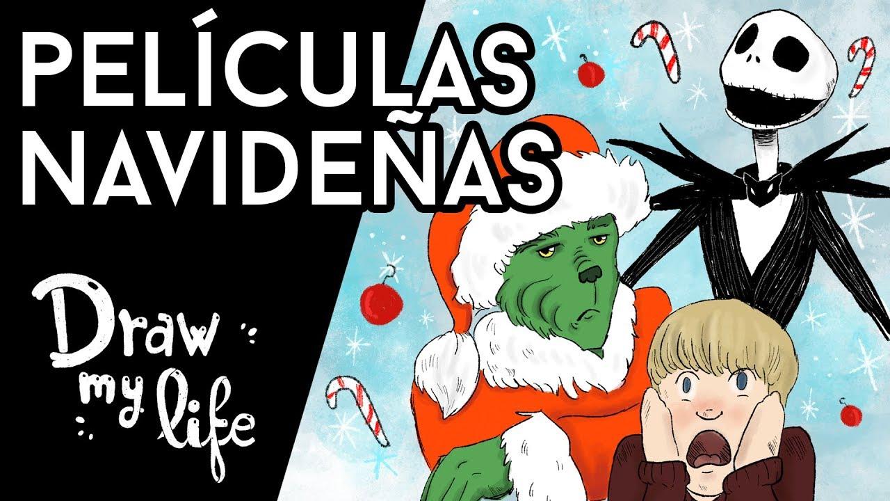 Las MEJORES PELÍCULAS NAVIDEÑAS - Draw My Life