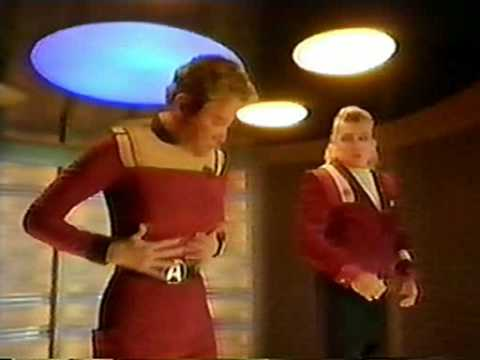 Star Trek  William Shatner & James Doohan  British Commercial Funny  6
