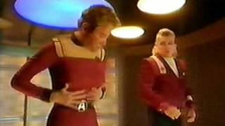 Star Trek - William Shatner & James Doohan - British Commercial (Funny) - 6
