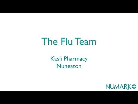 Flu vaccinations in pharmacy - the flu team