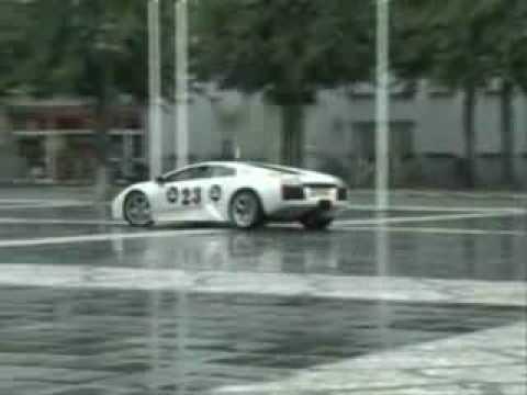 Lamborghini Drifting