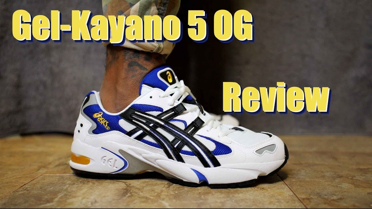 asics gel kayano 5