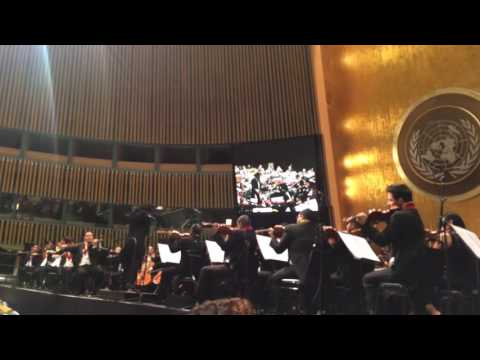 Gustavo Dudamel and Simón Bolívar Orchestra of Venezuela at United Nations (pt. 3)